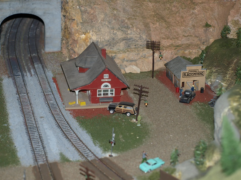 Custer station and Black Smith shop